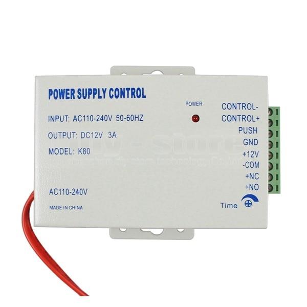 DIYSECUR система контроля доступа двери блок питания Выход DC 12 V 3A/Вход AC 110~ 240 V