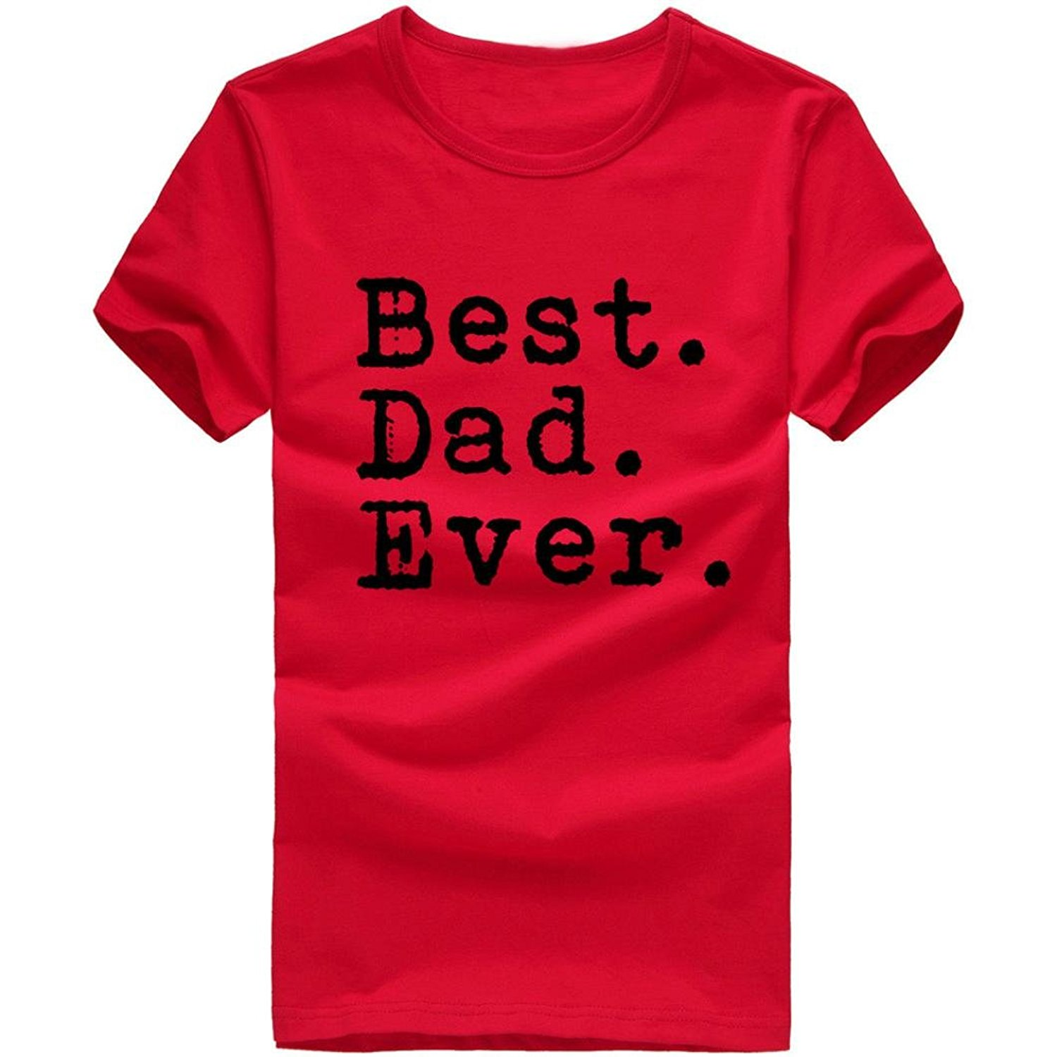 High Quality Men T Shirts Mens T-Shirt, Bokeley Funny Pint Best. Dad. Ever. Short Sleeve ...
