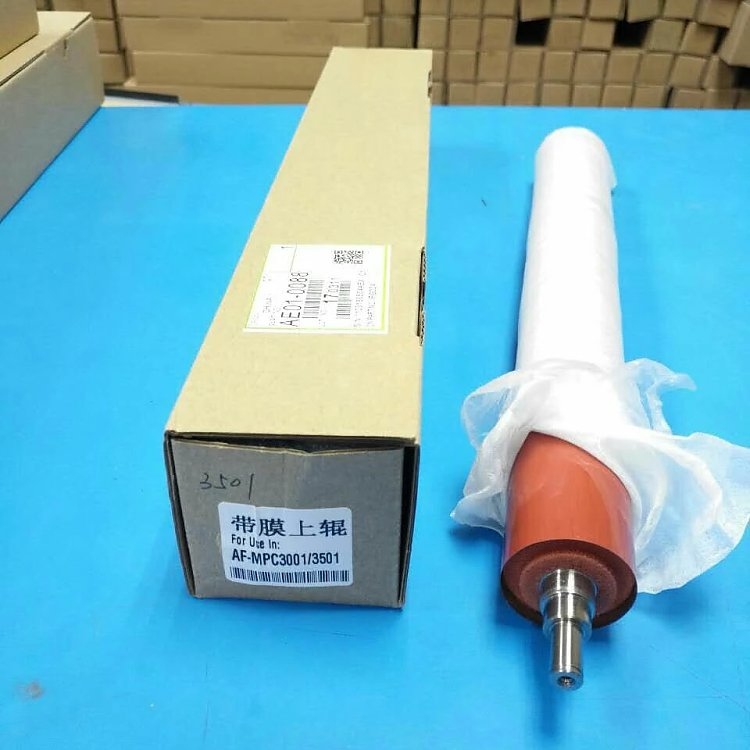 upper fuser roller heat roller used for ricoh MPC3001 3501 4501 5501 copier spare parts free shipping upper fuser roller heat roller used for minolta di550 di570 di470 di450 copier spare parts laser parts 1pcs lot