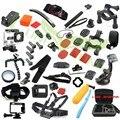 Suptig accesorios kit caja estanca básica pecho monopod para gopro hero 4/negro/hero4 plata 3 +/3 sjcam