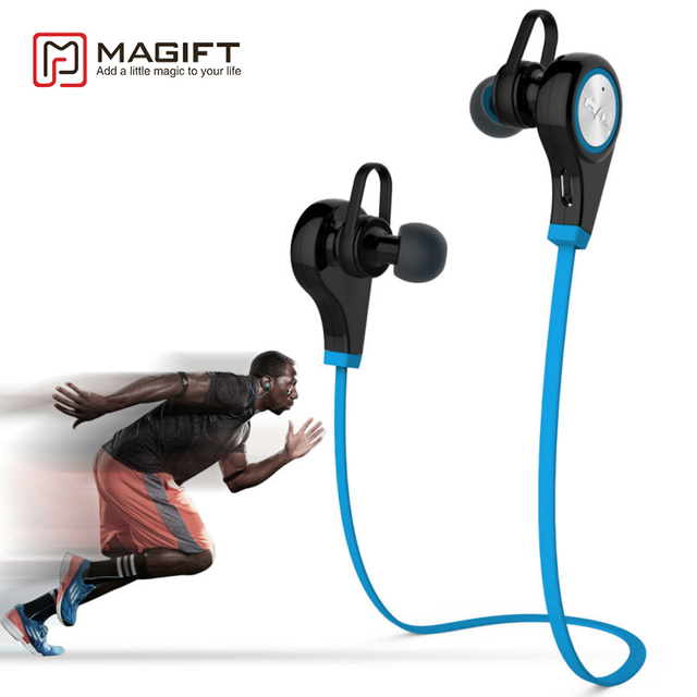Magift Wireless Earphones In ear Stereo Bluetooth Earpiece Sports Bluetooth Headsets CSR4.1 Stereo Earbuds for iphone with Mic