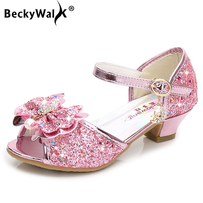 Princess Girls Party Shoes Children Sandals Colorful Sequins High Heels Shoes Girls Sandals Peep Toe Summer Kids Shoes CSH813Princess Girls Party Shoes Children Sandals Colorful Sequins High Heels Shoes Girls Sandals Peep Toe Summer Kids Shoes CSH813