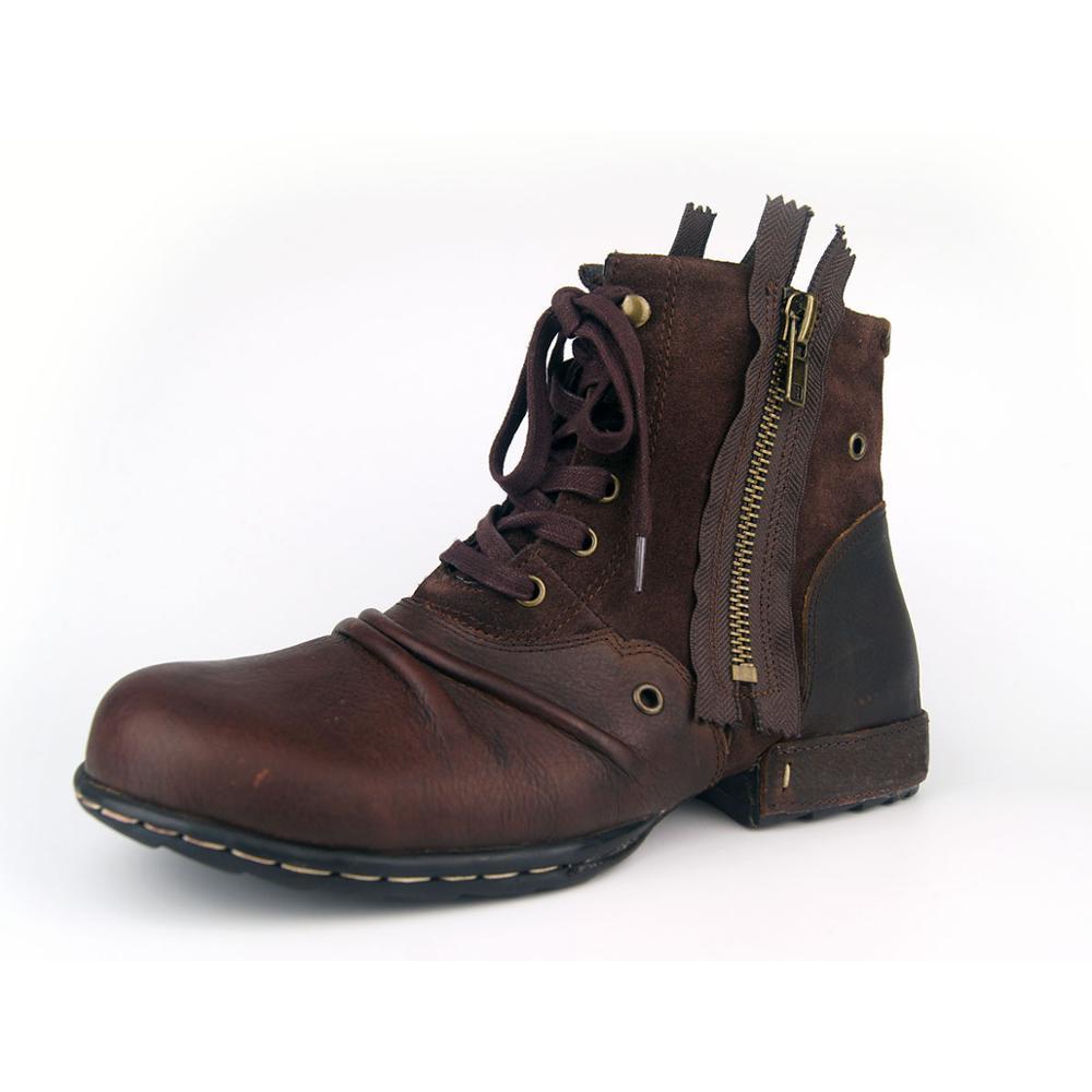 288a8c83763b5 US $84.23 19% OFF|Männer Stiefel Aus Echtem Leder Männer Schuhe Handmade  Stiefeletten Superstar Stiefel Classic Outdoor Winter Schuhe Marke Schuhe  ...