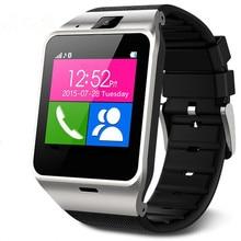 2016ใหม่Gv18 a plus Smartwatchบลูทูธสมาร์ทนาฬิกาสำหรับAndroid IOSโทรศัพท์สนับสนุนซิมการ์ดTF SMS GPRS NFC FM PK DZ09 GT08 U8