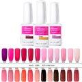 Lily angel 15ml 120 Colors Manicure Soak-off UV LED Gel Nail Polish Semi Permanent Nail Gel Varnishes Top & BaseCoat NO.25-48