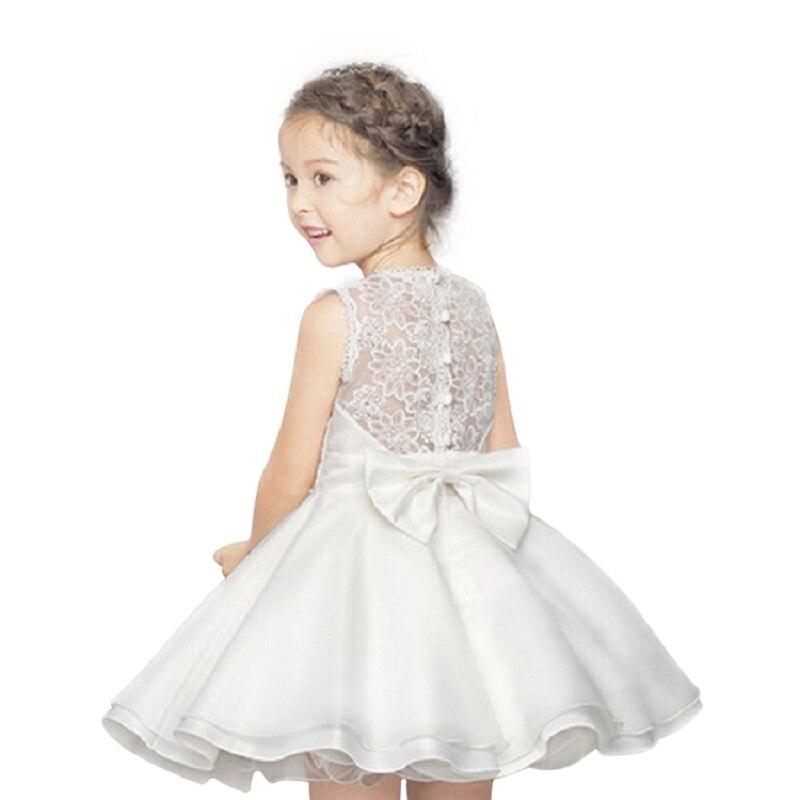 2017 Pearl Flower Princess Girls Dress For Wedding Flower Girl