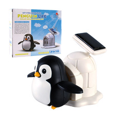 Gyermekek Nap Aranyos Penguin Élet Kreatív Játékok Gyermek Puzzle Összeszerelt DIY Tudomány És Oktatás Furcsa Játékok