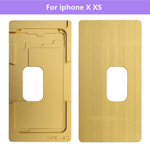 Image 3 - Front Glass /w Frame LCD Position mold For iPhone 6 6S 6P 6SP 8 8P X XS XR XS MAX  alignment mold location mould For iphone X XS