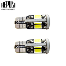 2x T10 LED Car Light Canbus 194 W5W Auto Bulbs Styling White For Toyota Camry corolla2011 rav4 chr avensis yaris hilux