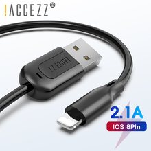 !ACCEZZ TPE USB Charging Cable For Apple iPhone X XS MAX XR 8 7 6 6S Plus Lighting Charge Data Cables ipad Charger Cord Line