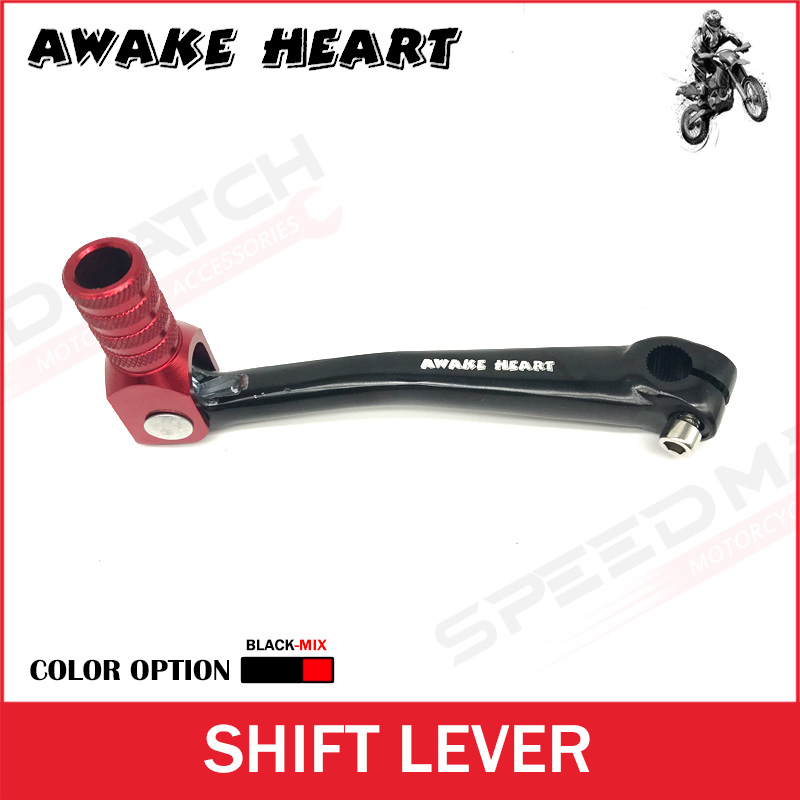 CNC Aluminum Folding Gear Shift Lever For Dirt Bike Pit Bike KAYO BOSUER 50cc 70cc 90cc 110 125cc Motorcycle Parts aluminum motorcycle dirt pit bike red black gear shift lever cnc fuel tank cap fit kayo xmotor pitpro motorcross free shippig