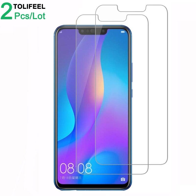 2Pcs Tempered Glass For Huawei Nova 3 Screen Protector Nova 3i 9H 2.5D Phone On Protective Glass For Huawei Nova 3 I Glass