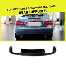 Auto-Styling PU Auto Heckdiffusor Lip Spoiler Für Benz W207 E Coupe E260 E350 CGI 2010-2013