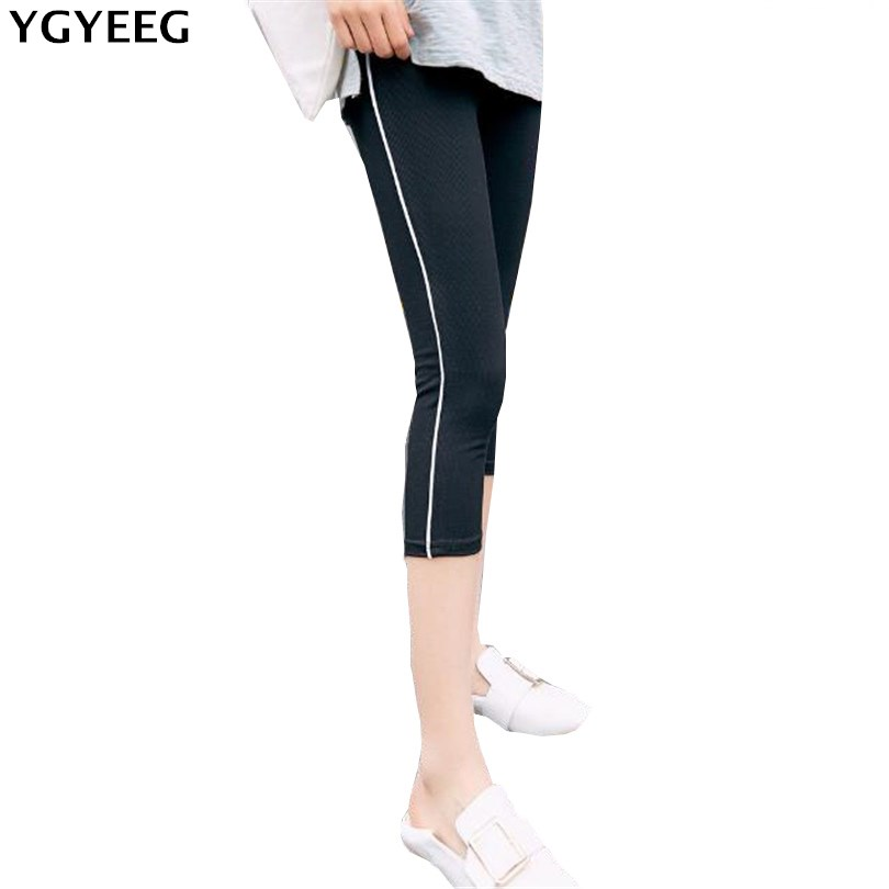 YGYEEG Striped   Pants     Capris   For Women Stretch Pencil Causal   Pants   Stripe Joggers Women Trousers High Waisted Black Stretch   Pant