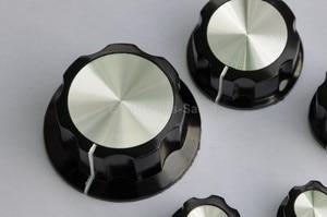 "Image 3 - ( 100 pcs/lot ) Pot Knobs, 0.776"" x 0.449"" Shaft 1/4"", MF A01, for HAM Radio / Audio."