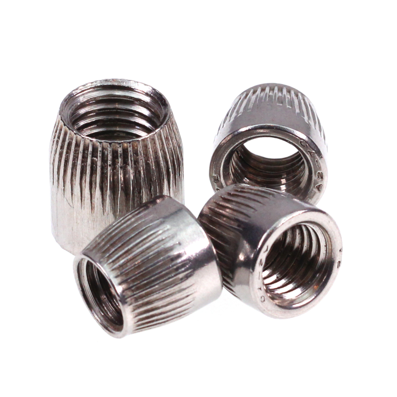 5pcs M6 8 10 <font><b>12</b></font> Female Thread Stainless Steel Conical Cap Tapered Cone <font><b>Nut</b></font> image