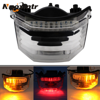 Nuoxintr Motorcycle Rear Turn Signal Tail Stop Light Lamps Motorcycle Dirt Bike Motocross Accessories for Yamaha FZ600 FZ6 FAZER