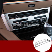 Interior Center Console CD Panel Cover Trim For BMW 5 Series GT F07 2010 2017