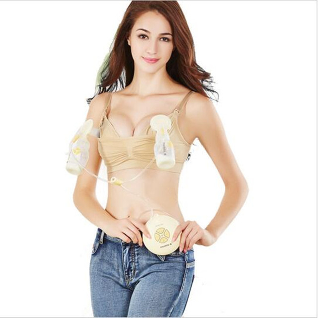 ca6cb6dfdd87f New Maternity Bra Cotton Maternity Bra For Nursing Push Up Hands Free  Breast Pump Bra Maternity Breast Feeding Bra Underwear