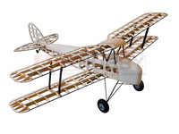 1 4m Tiger Moth Balsa Kit For Gas Power And Electric Power