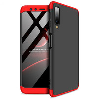 100PCS 360 Degree Full Cover For Samsung Galaxy A9 Star Lite A8 Plus A6 2018 J4 J6 J2 Pro J3 J5 J7 J8 Hard PC 3 In 1 Phone Case