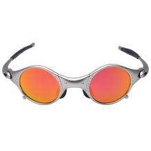 Okulary przeciwsłoneczne Mtb okulary polaryzacyjne okulary męskie okulary rowerowe UV400 okulary przeciwsłoneczne okulary rowerowe okulary przeciwsłoneczne na rower CiclismoE5-2 tanie tanio CN (pochodzenie) Polarized 39mm Srebrny 42mm Z poliwęglanu Unisex ALLOY Jazda na rowerze