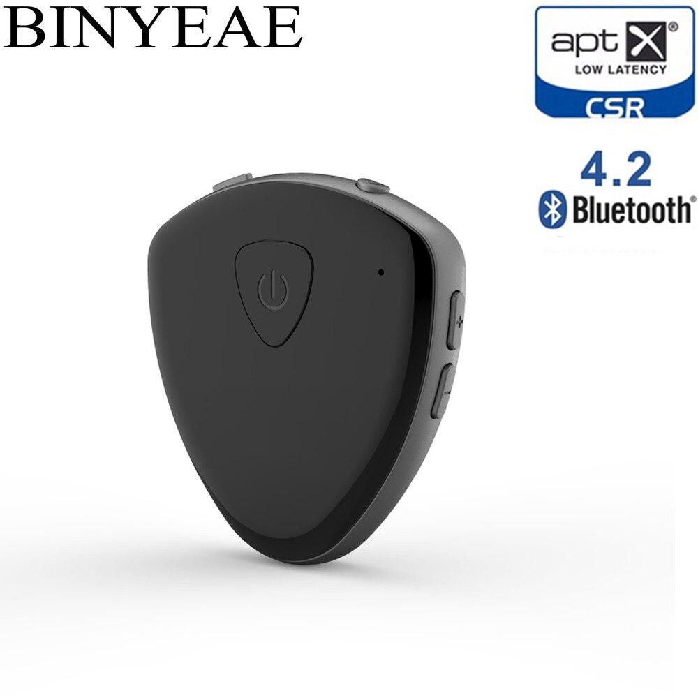 Unterhaltungselektronik Vereinigt Tragbare Bluetooth 4,2 Aptx Niedrigen Latenz Sender Empfänger Mni A2dp Wireless Aux Tv Musik Adapter Für Home Auto Lautsprecher Audio Funkadapter