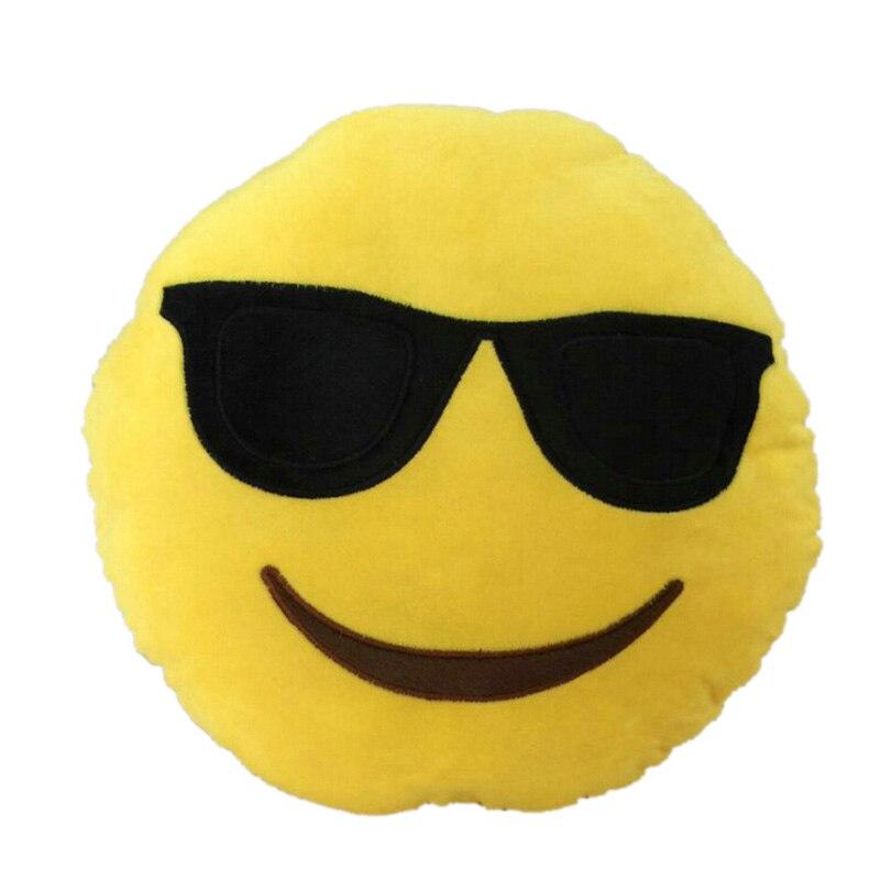 Smiley Gesicht Emoticon Emoji Kissen Plüsch Weihnachten Präsentieren ...