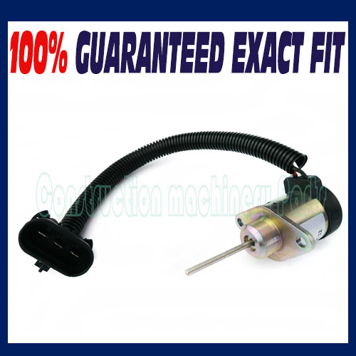 Free shipping Fit Bobcat 6691498 Fuel Shut off Solenoid Excavator 337 341  425 428 430 435-in Generator Parts & Accessories from Home Improvement on