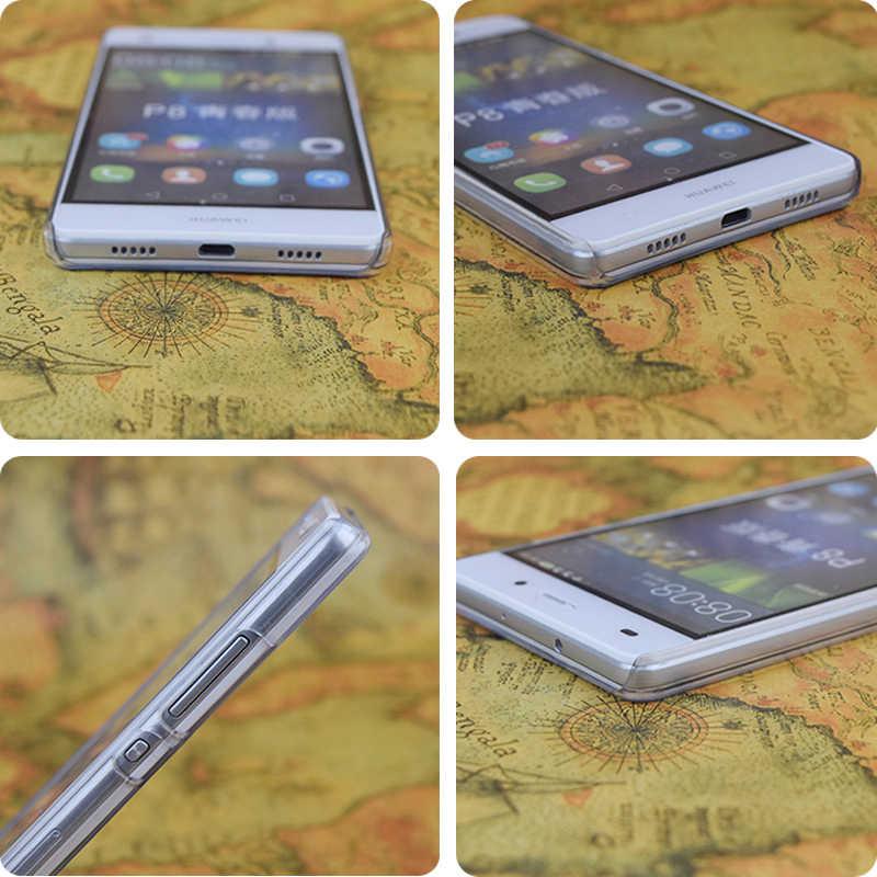 E1797 مجهولة شفاف الصلب رقيقة جراب هاتف جلد لهواوي P 6 7 8 9 لايت زائد الشرف 6 7 4C 4X g7