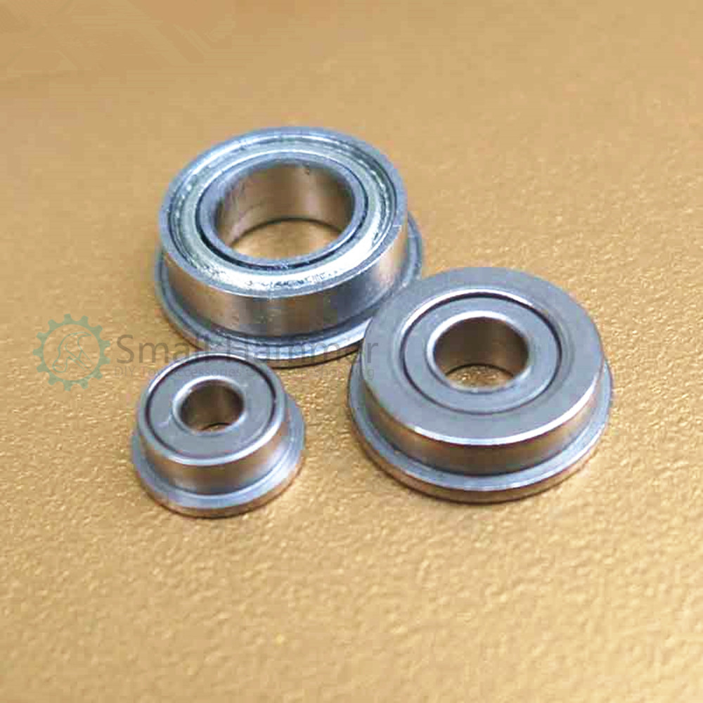 Cup flange bearing with side bearing ball bearing four-wheel drive bearing diy accessories material cup 4mm bearing