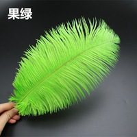 100pcs/lot 30 35cm Beautiful Ostrich Feathers for DIY Jewelry Craft Making Wedding Party Decor Accessories Wedding Decoration