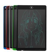 Alloyseed 12 дюймов ЖК-дисплей записи Планшеты цифровой рисунок Планшеты почерк колодки Портативный электронный Планшеты доска для детей рисунок
