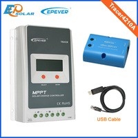 EPEVER Brand Products 40A 12v 24v Auto Type Solar Controller Lcd Display Tracer4210A USB Cable WIFI