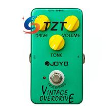 JOYO JF-01 Electric Bass Guitar Effect Pedal Vintage Overdrive DC 9V True Bypass Dynamic Compression