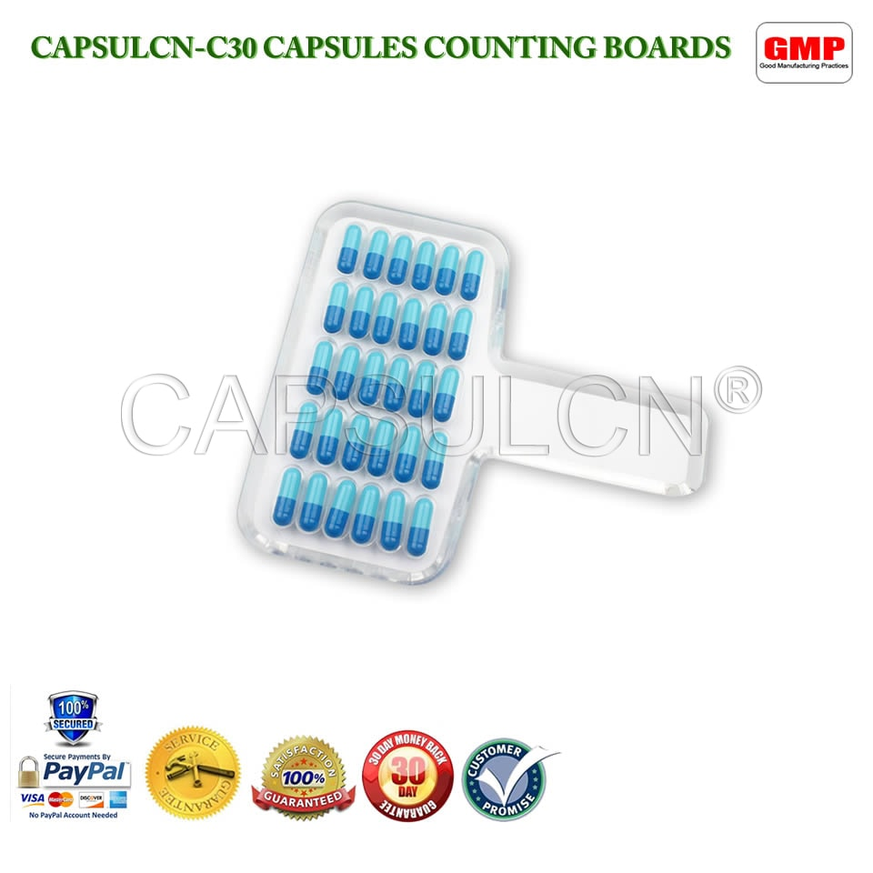 все цены на Free Shipping CN-30C Manual Tablet Counter/Pill Counter/Capsule Counter Board (Size 000-5)