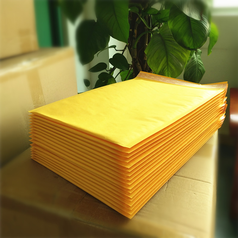 Wholesale 50pcs Small Middle Size Manufacturer Kraft Bags Bubble Mailers Padded Envelopes Paper Mailer MAILING Bag