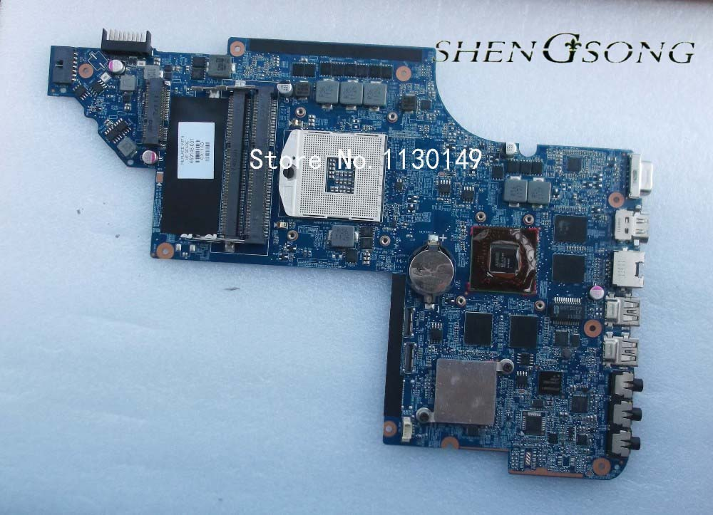 659148-001 motherboard for HP pavilion DV6 DV6T DV6-6000 laptop motherboard with chipset HD6770/1G free shipping 659151 001 for hp pavilion dv6 dv6t dv6 6000 laptop motherboard hm65 chipset hd 6490 1g 100% tested ok