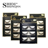 SHIDISHANGPIN 20 boxes 3d mink lashes handmade mink eyelashes false eyelashes natural long lashes extensions maquiagem faux cils