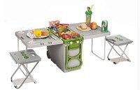 Колеса + стол 18.6L автомобильный Холодильник Cooler Теплее Холодильник портативное устройство с EPS не нужно электрические в car/открытый рыбы. Фут