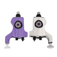 A200 Silver Purple Rotary Tattoo Machine Bishop Style Professional Tattoo Machine For Liner Shader Hot Selling