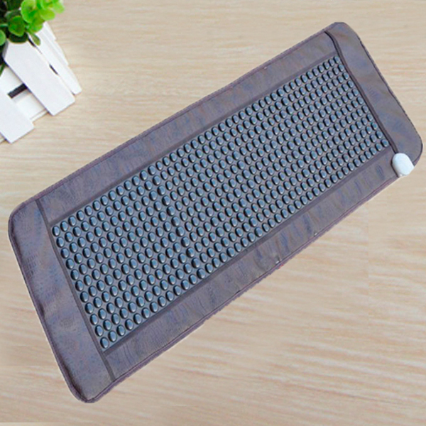 Free Shipping! Good Jade Germanium Stone Mattress Jade Health Care Physical Therapy Mat Tourmaline Heat Mattress Size 50x150cm free shipping jade germanium stone mattress jade health care physical therapy mat tourmaline heating mattress eye cover1 2 1 9m