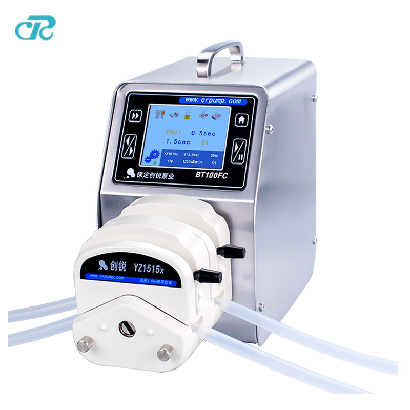 Viscous liquid filling pump E-Liquid Filling Machine Supporting Peristaltic Metering Pump kamoer 24vsmall peristaltic pump mini water pump liquid filling machine