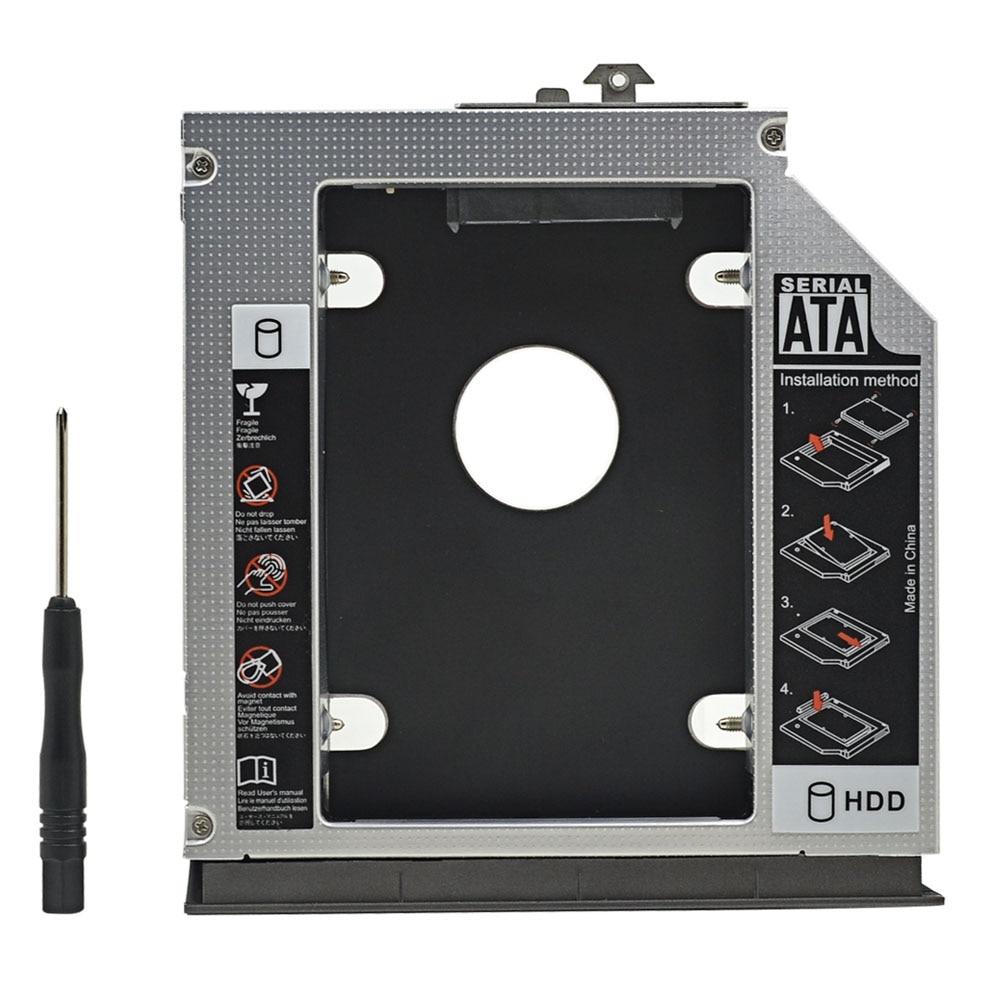 2nd SATA HD HDD SSD Hard Drive Caddy for HP Compaq 6530b 6535b 6730b 6730s 6735b