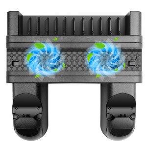 Image 2 - Ładowarka PS4/PS4 Slim/ PS4 Pro podwójna ładowarka kontrolera konsola pionowe stanowisko chłodzące stacja ładowania Playstation 4 wysoka jakość