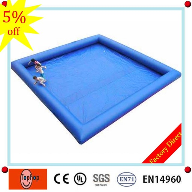 105m 09mm pvc tarpaulin large size plastic square above ground inflatable balloon water