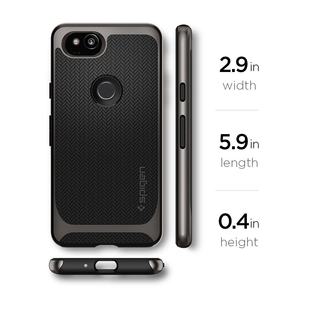 separation shoes 483a3 e712f US $23.74 5% OFF|100% Original SPIGEN Google Pixel 2 Case Neo Hybrid  Gunmetal F16CS22273-in Fitted Cases from Cellphones & Telecommunications on  ...