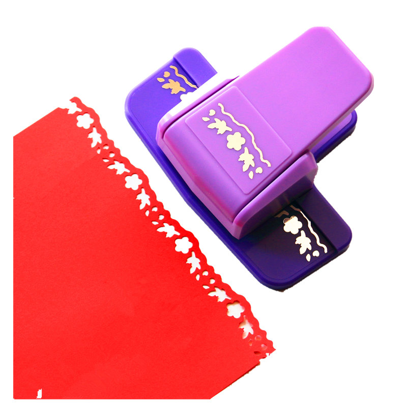New Arrival Fancy Border Punch Number 7  Foam Paper Embossing Punch Scrapbooking Edge Puncher