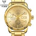 2016 Top Brand Luxury Men's Watches Men Wristwatches Stainless Steel Strap Business Swiss Watch Reloj Hombre Time Clock Men