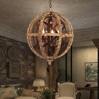 Металлическими элементами и стразами 5 светло винтажный абажюр свисающая Люстра для столовой свет, подвесной светильник в металлическом ка